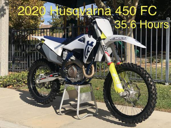 Photo 2020 Husqvarna FC 450 - $8,900 (Lake Elsinore)