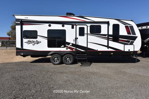 Photo 2021 Cruiser RV Stryker 2613 Toy Hauler - KING BED - Upgrades - $45,999 (Norco)