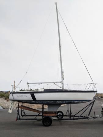 Photo 2539 Foot Merit (Luxury cruising or Racing) Sailboat Sail Boat - $7,500 (Peoria AZ)