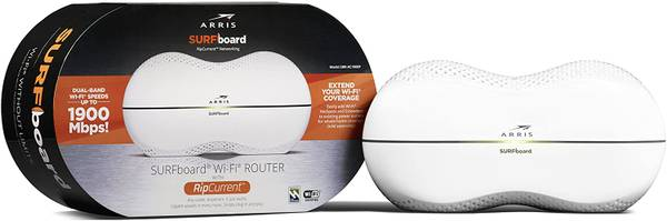 Photo Arris Surfboard Ripcurrent WiFi Router  Modem New Condition - $90 (Studio City)