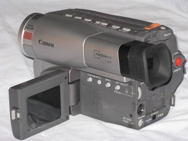 Photo Canon Hi8 camcorder movie camera 8mm standard 8 Viewcam - $140 (LAX SOUTH BAY TORRANCE)