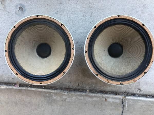 Photo Celestion Speakers - $40 (Lake Murray)