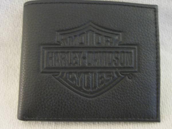 Photo Harley-Davidson Mens Leather Wallet - MSB8361 Black - $20 (Huntington Beach)