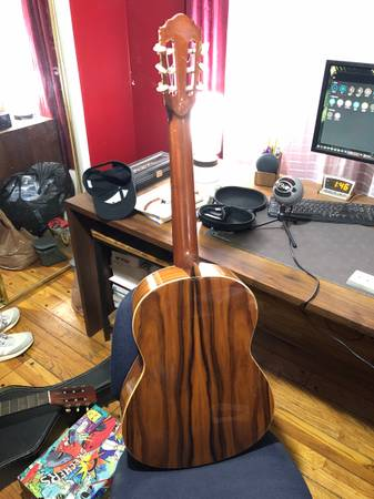 Photo Hofner Classical Guitar with original travel case Great condition - $250 (Van Nuys)