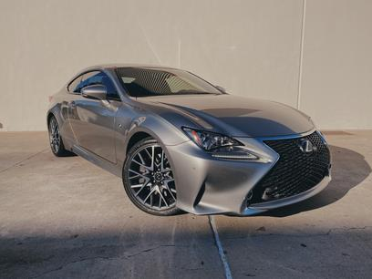 Photo Used 2015 Lexus RC 350 F Sport for sale