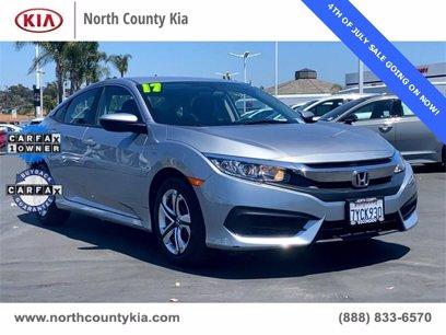 Photo Used 2017 Honda Civic LX Sedan for sale
