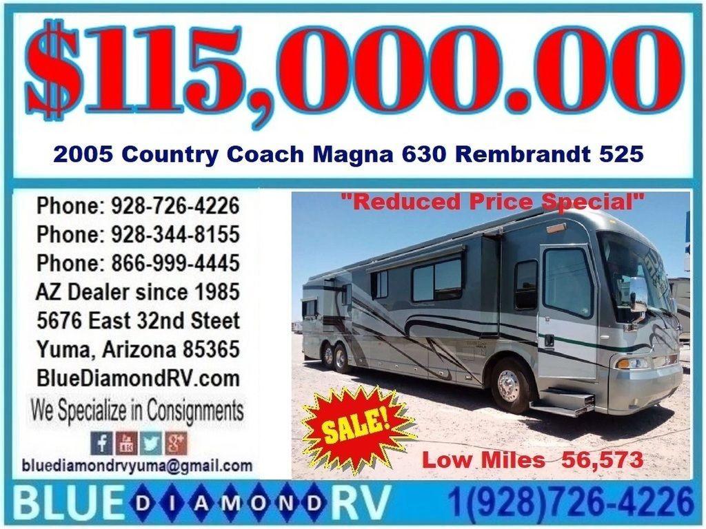 Country Coach Magna 630 For Sale Zervs