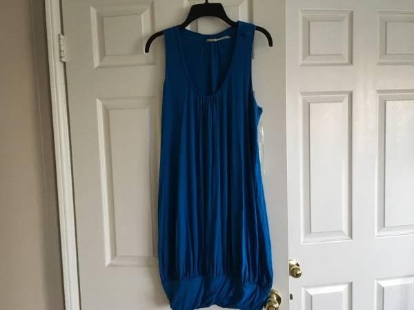 Photo retail $120 brand new max studio blue dress WOMEN MEDIUM - $30 (chino hills)