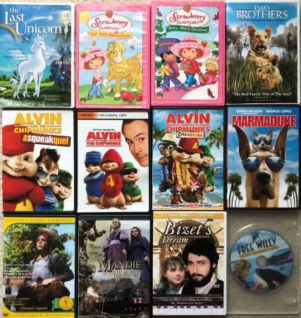 Photo 12 Kids  Family Movies (Used DVD) - $6 (BrownsburgIndianapolis)