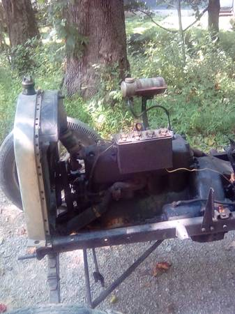 Photo 1927 ford model t chassis and engine - $1,800 (Morgantown Indiana)
