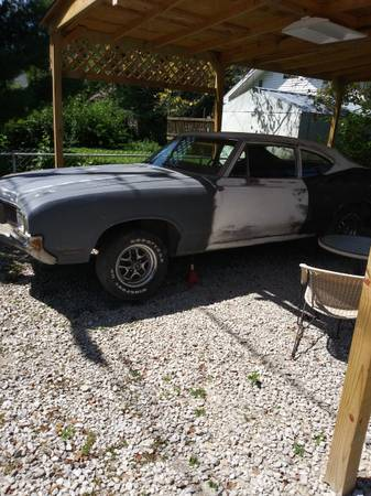 Photo 1970 oldsmobile f85 project car - $1,000 (Indianapolis)