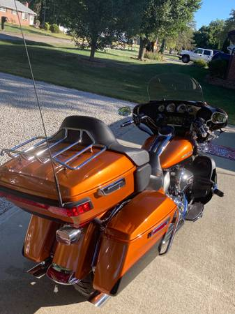 Photo 2015 Harley Ultra Classic Limited Low - $18,000 (Indianapolis)