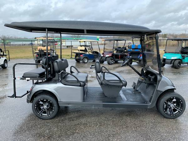 Photo 2 4 6 passenger gas and electric golf cart golf carts custom lifted (SSCARTS.COM)