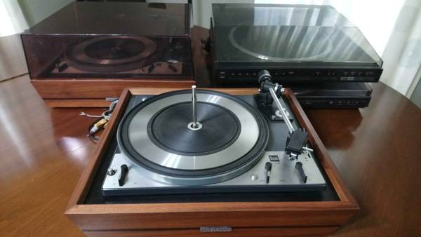 Photo 4 Vintage Turntable Lot (Marantz, Dual, and BSR) - $120