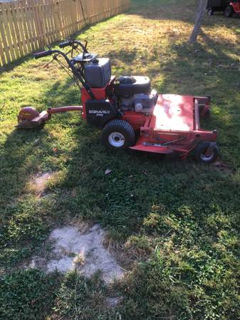 Photo 50 inch gravely walk behind mower - $750 (Trafalgar)