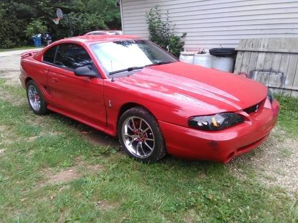 Photo 97 mustang Cobra kenne Bell supercharger - $13000 (Camby)