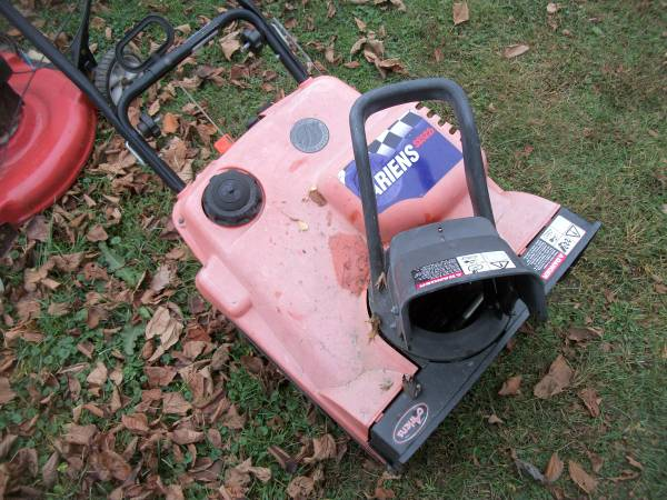 Photo Ariens Snow Blower 6 Other Snow Blowers Runs Great - $50 (Greenfield)