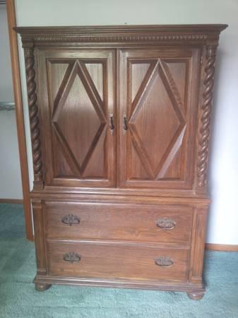 Photo Armoire Dresser - $150 (Plainfield)