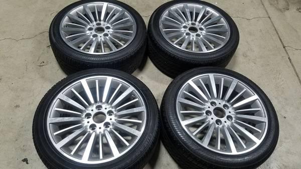 Photo BMW 18quot Wheels - 3-series  4-series - from 2015 435 - Bridgestones - $800 (Carmel, IN)