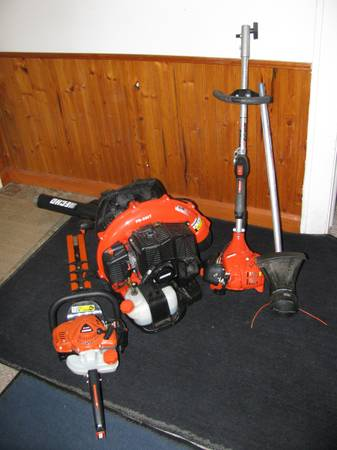 Photo Blower-SoldLike new-Echo hedge trimmer--2 piece weed eater - $400 (East Indyblower is sold)
