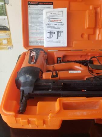 Photo CONCRETE GUN RAMSET T3 - $300 (indianapolis)