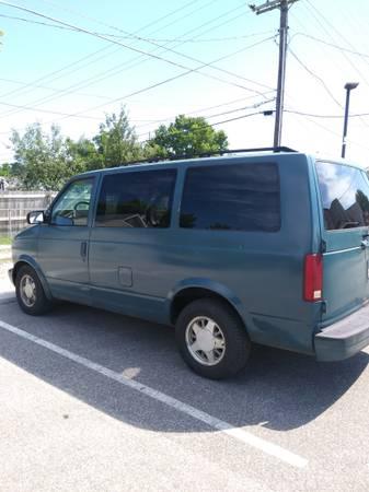 Photo Chevy Astro Van 1995 - $1200 (Martinsville)