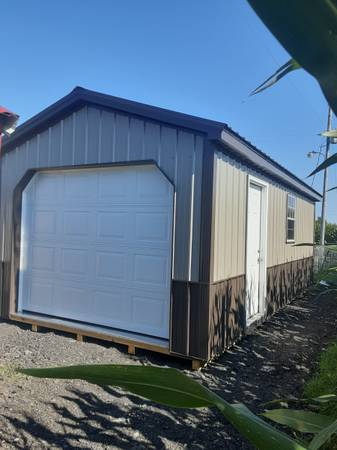 Photo Deluxe Portable Garage 12x24 - $6,500 (Morristown IN. 46161)