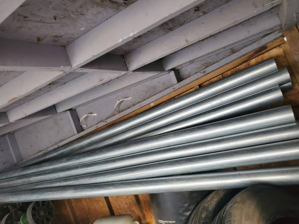Photo EMT Conduit 110 ft of 3 inch, and panel tubs - $325 (Downtown Indianapolis)