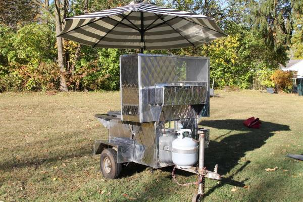 Photo Hot Dog Cart - $1400
