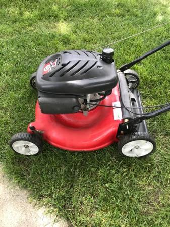 Photo Lawn Mower Yard Machines - $60 (indianapolis)