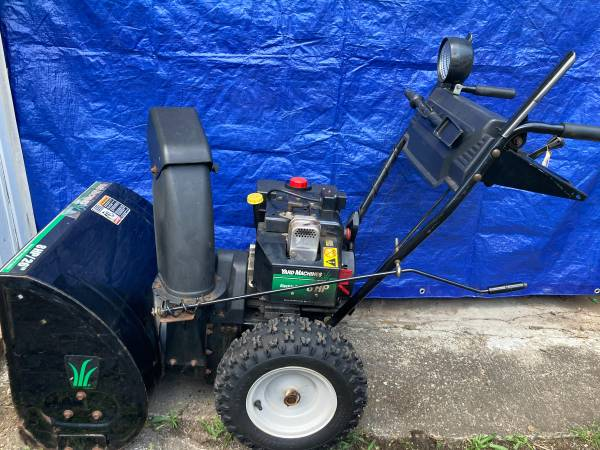 Photo MTD two stage snow blower. 8 hp 26 inch - $220 (Indianapolis)