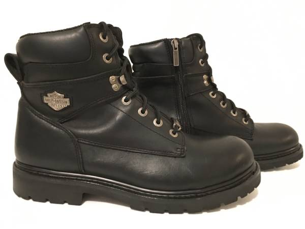 Photo Mens Harley Davidson Wolverine Leather Motorcycle Boots - Size 12M - $55 (Southeast Indy)