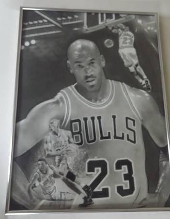 Photo Michael Jordan art - $165 (Indianapolis)