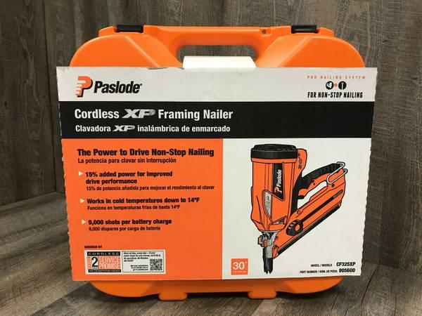 Photo New Paslode Cordless Framing Nailer - $325 (Waverly (37S  144))