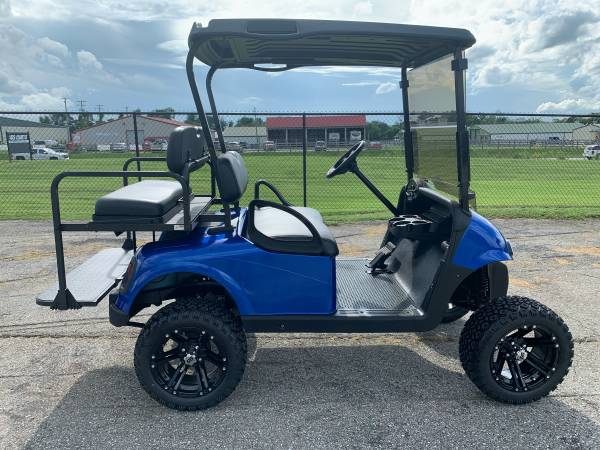 Photo New and used 4 6 passenger gas electric golf cart carts custom lifted (SSCARTS.COM)