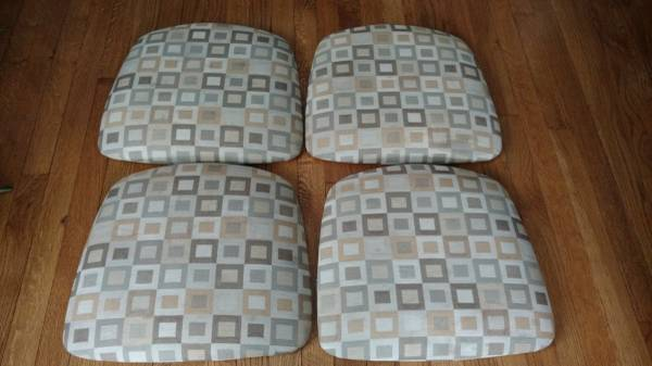 Photo Official Gibo Creations Sturdy Seat Cushions - Four (4) - $20 (Broad Ripple)
