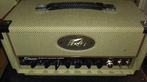 Photo Peavey Classic Mini 20 Tube Head - $500 (Danville)