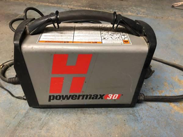 Photo Plasma Cutter Hypertherm Powermax 30 - $850