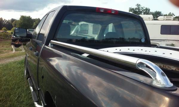 Photo Putco Stainless Locker Side Rails for Dodge Ram 1500 6.5 or 5.7 Ft. Be - $75 (North Vernon IN)