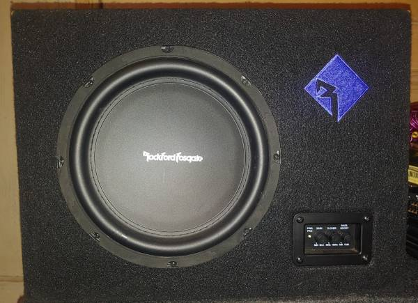 Photo Rockford Fosgate 300w Powered Subwoofer - $100 (East Side Indianapolis)