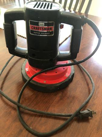 Photo Sears Craftsman Buffer Polisher Model 315.10670 2-speed Electric - $17 (Carmel)