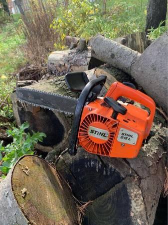 Photo Stihl 015 L top handle chainsaw 12quot bar - $200 (Castleton)