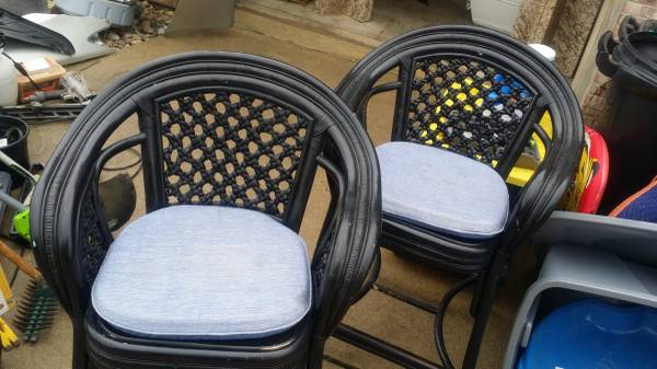 Photo Two Bar Stools -- SOLD (Greenwood)
