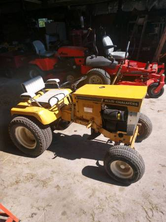 Photo Wanted old Allis Chalmers  Simplicity Garden Tractors - $100 (Fortville)