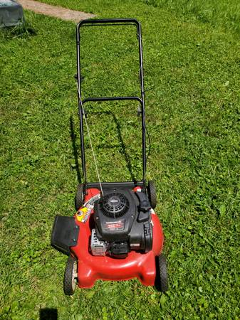 Photo Yard Machines 20quot 125cc Lawn Mower - $100 (Eastside Indianapolis)