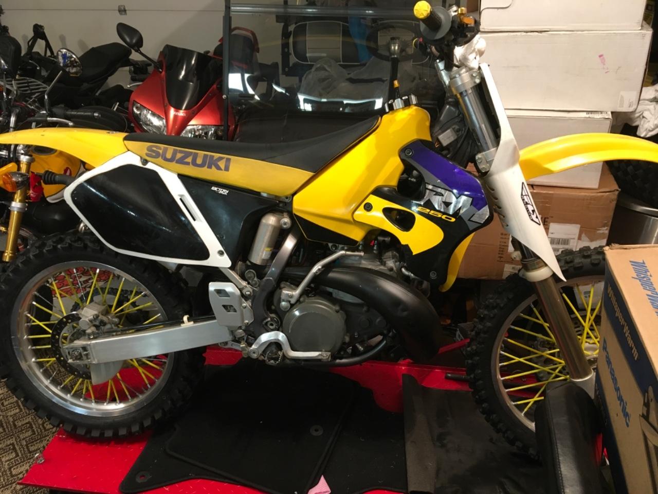 Photo 1996 Suzuki RM250 $1750