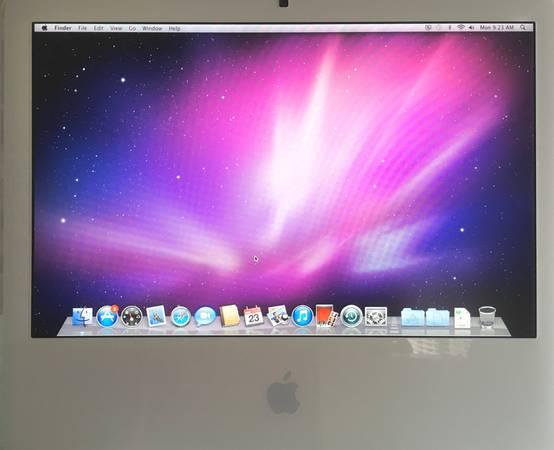 Photo iMac model A1207 20-inch display dual core Intel ($125 firm) - $125 (Fishers)