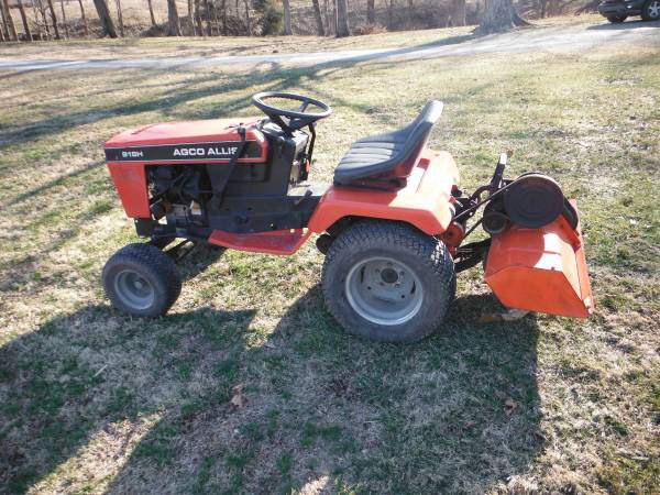 Photo simplicity- allis tractor with tiller - $1,600 (greensburg)