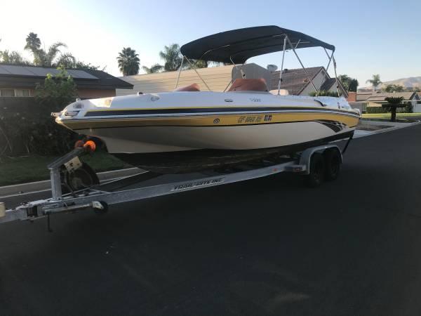 Photo 07 Kayot V220 Deck Boat Low Hours 1Owner - $19,700 (Hemet)