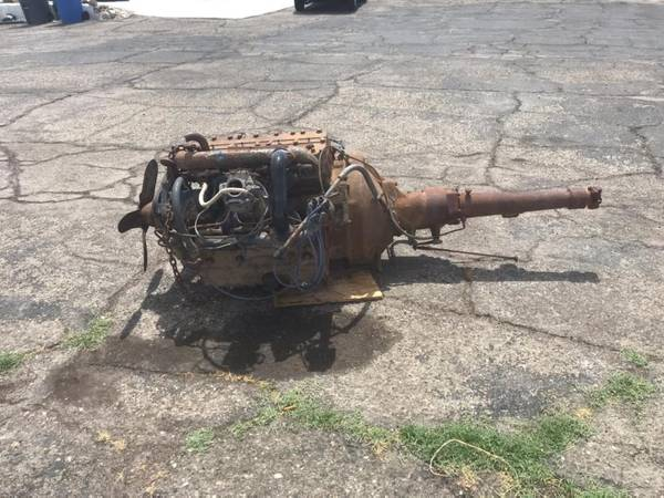Photo 1940 Cadillac LaSalle Engine and Transmission - $1150 (Barstow)